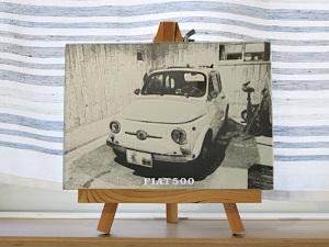FIAT500アート_1