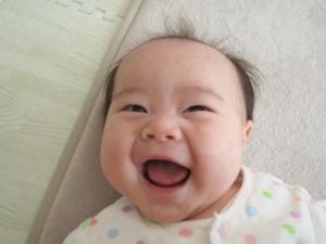 息子の笑顔