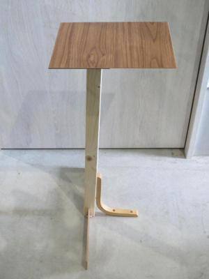 ミニテーブル横