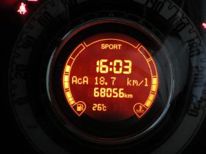FIAT500のメーター